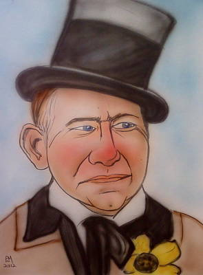 W.c. Fields Art Print by Pete Maier
