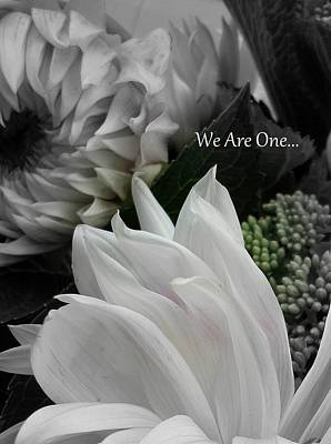 We Are One Art Print by Sian Lindemann