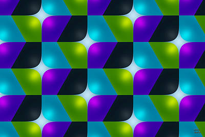 Digital Art - We Are Pattern Seekers by Manny Lorenzo