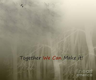 We Can Art Print