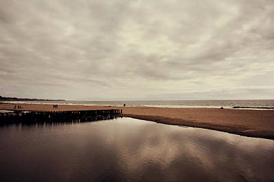 Water Reflections Photograph - We Should Never Be Apart by Laurie Search