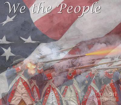 We The People Art Print by Randy Steele