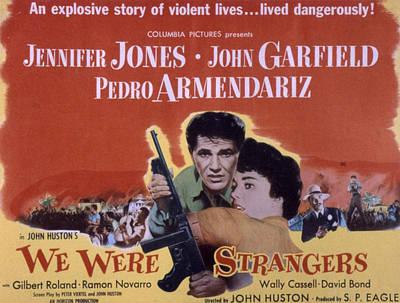 Posth Photograph - We Were Strangers, John Garfield by Everett