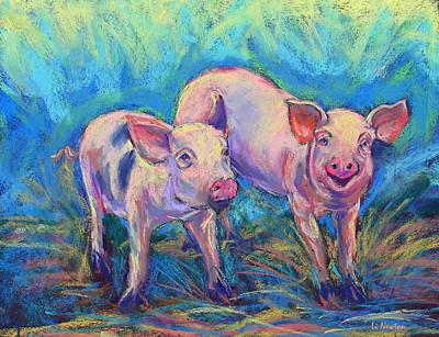We Won't Be Bacon Art Print by Li Newton