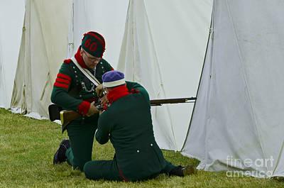 Photograph - Weapon Maintenance by JT Lewis