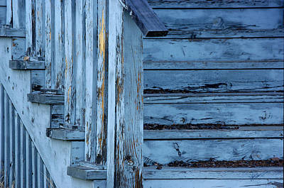 Fort Bayard Photograph - Weathered Blue by Vicki Pelham