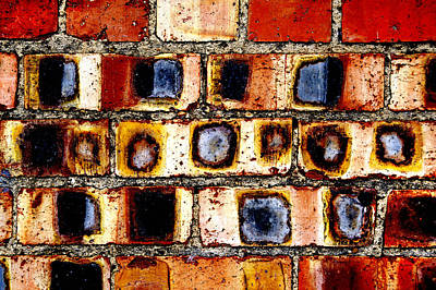 Photograph - Weathered Bricks by Ross Odom