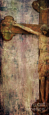 Photograph - Weathered Cross by Jeanne  Woods