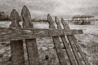 Weathered Print by Debra and Dave Vanderlaan
