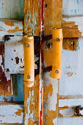 Photograph - Weathered Entry by Anthony Citro