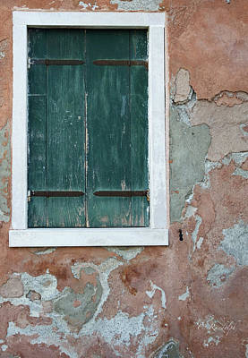 Photograph - Weathered Green by Cheri Randolph