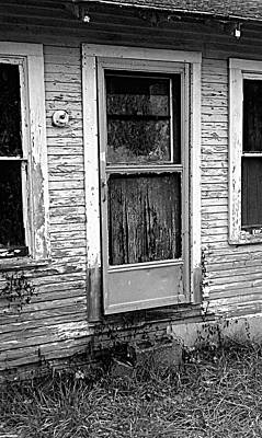 Weathered Print by Kevin D Davis