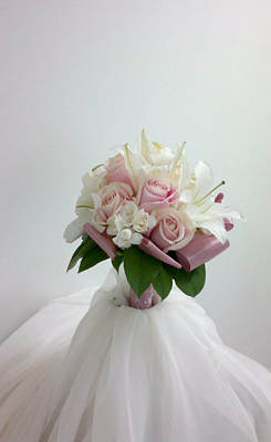 Photograph - Wedding Bouquet by Lali Partsvania