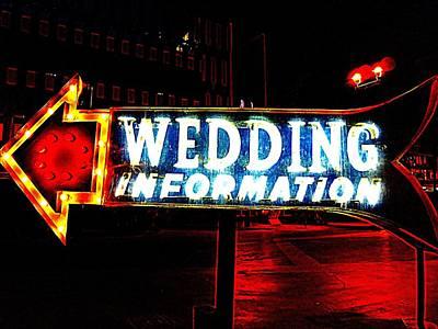Las Vegas Wedding Photograph - Wedding Information by Randall Weidner