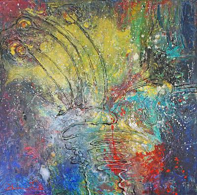 Weeding The Inner Garden  Original by Catherine Foster