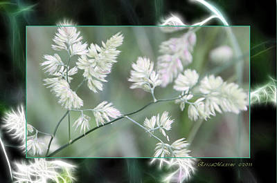 Art Print featuring the photograph Weeds by EricaMaxine  Price