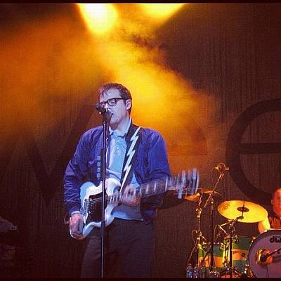 Concert Wall Art - Photograph - #weezer #canada #montreal by Ange Exile DuParadis