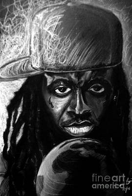 Hop Drawing - Weezy F. Baby by Mark Baines