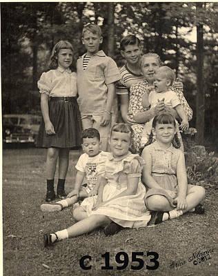 Photograph - Weiner Cousins C 1953 by Ericamaxine Price