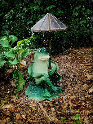 Weird Frog Art Print