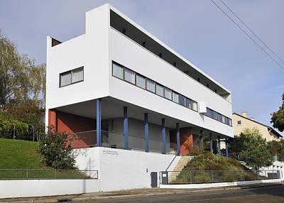 Photograph - Weissenhof Settlement - Le Corbusier Building by Matthias Hauser