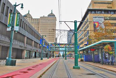 Art Print featuring the photograph Welcome To Dt Buffalo by Michael Frank Jr