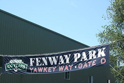 Welcome To Fenway Park Art Print by Stephen Melcher