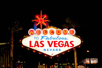 Photograph - Welcome To Las Vegas by Anthony Doudt
