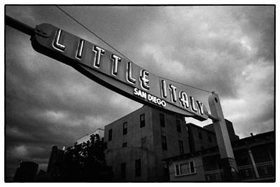 Modern Feathers Art - Welcome to Little Italy by Tanya Harrison