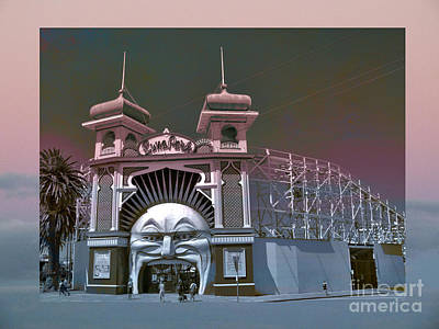 Photograph - Welcome To Lunar Park by Karen Lewis