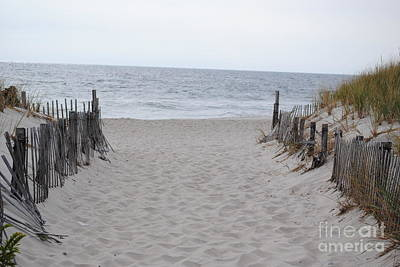 Seaside Heights Photograph - Welcome To The Beach by Daniel Diaz