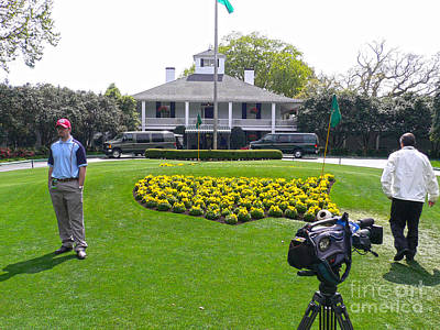 Masters Golf Photograph - Welcome To The Masters by David Bearden