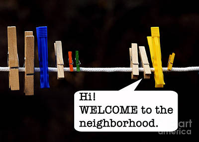 Photograph - Welcome To The Neighborhood by Nancy Greenland