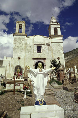 Photograph - Welcoming Jesus Real De Catorce Mexico by John  Mitchell