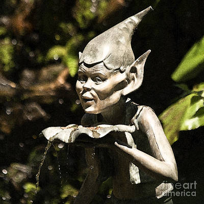 Bronce Photograph - Well Gremlin by Heiko Koehrer-Wagner