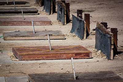 Photograph - Well Used Horseshoe Pits by Chris Fullmer
