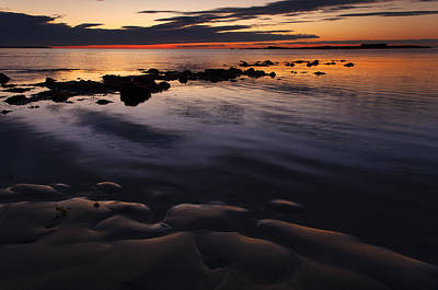 Photograph - Wells Beach Maine Sunrise 3 by Glenn Gordon