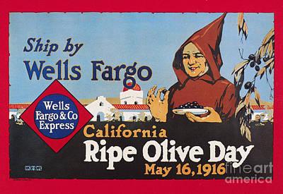 Wells Fargo Express, 1916 Art Print by Granger