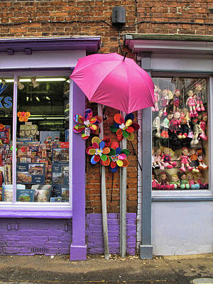 Wells-next-the-sea Gift Shops Art Print