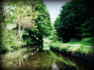Photograph - Welsh Canal Dream by Marilyn Wilson