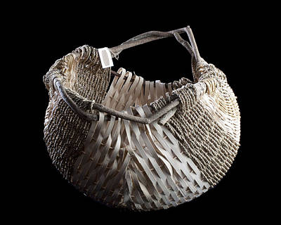 Potato Mixed Media - Welsh Potato Basket by India Cain