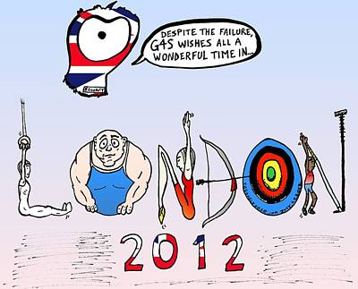 Welsome To The 2012 London Olympics Original by Yasha Harari
