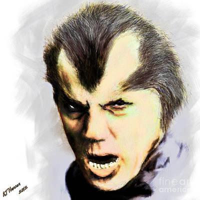 Werewolf Of London Print by Arne Hansen