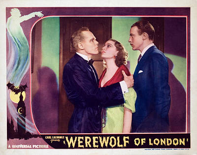 1935 Movies Photograph - Werewolf Of London, Henry Hull, Valerie by Everett