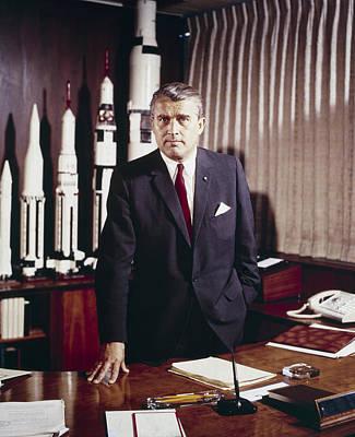 Wernher Von Braun 1912-1977 Art Print by Everett