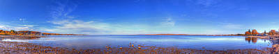 West Bay In Traverse City Art Print by Twenty Two North Photography