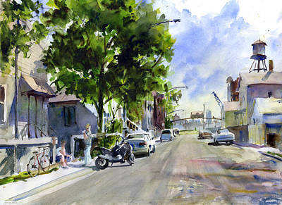 West Cullerton Street Print by Gordon France