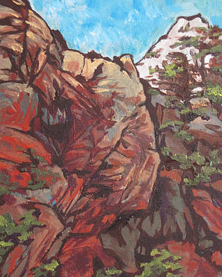 Painting - West Fork by Sandy Tracey