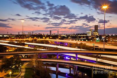 Photograph - West Houston Around Dowtown by Olivier Steiner