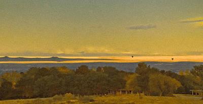 Photograph - Albuquerque, New Mexico - West Mesa Landscape by Mark Forte